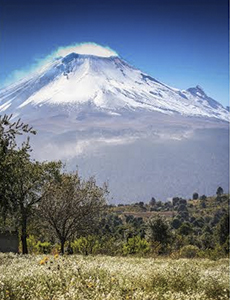 a popocatepetl